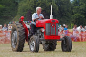 Agricultural farm tractor — Stock Photo