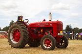 Zemědělská farma traktoru — Stock fotografie