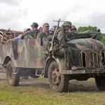 German troop truck — Stock Photo #69884961