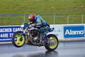 Motorcycle drag racing — Stock Photo