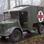 Vintage ambulance — Stock Photo #69962731