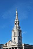 St Martins in the field Spire — Stock Photo