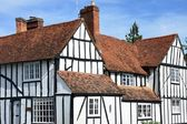 Large english timbered house — Stok fotoğraf