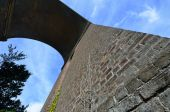 Viaduct arch at angle — Stock Photo