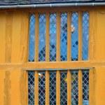 Yellow timbered house — Stock Photo #60040267