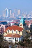 Qingdao Christ Church — 图库照片