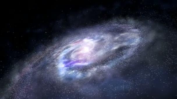 Spinning galaxy loop — Vidéo