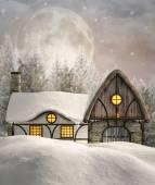 Wintermärchen — Stockfoto