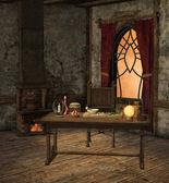 Alchemy room — Stock Photo