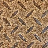 Rusty Metal Diamond Plate.  — Stock Photo