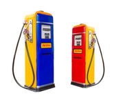 Gasoline fuel pump dispensers — Stok fotoğraf
