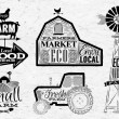 Farm vintage — Stock Vector #54148775