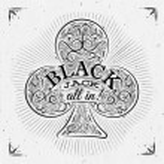 Постер, плакат: Clubs black jack