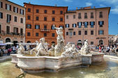 Piazza Navona, Rome - Italy — Stock Photo