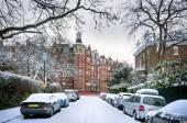 Winter in London. — Stock Photo