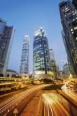 Hong Kong at night. — Stock Photo