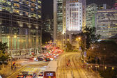 Rush hour in Central Hong Kong. — Stock Photo