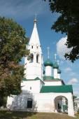 Aziz nikolaos kilisesi doğranmış - yaroslav ortodoks kilisesi — Stok fotoğraf