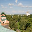 Постер, плакат: The Church of the Archangel Michael in Yaroslavl Russia View f