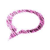 ícone de bate-papo — Foto Stock