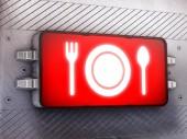 Hora de la cena — Foto de Stock