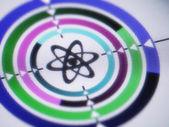 Atom concept — Stock Photo
