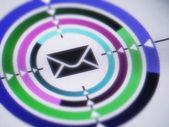 E-mail icon concept — Stock Photo
