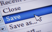 Save file — Stock Photo