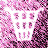 Garbage icon — Stock Photo