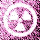 Radiation icon — Stock Photo