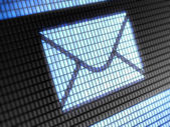 Ikona wiadomości e-mail — Zdjęcie stockowe