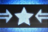 Star shape — Stock Photo
