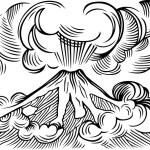 Volcano — Stock Vector #55569803