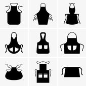 Aprons — Stock Vector