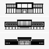 大型スーパー マーケット — ストックベクタ