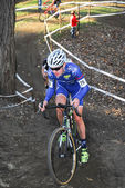 Cyclocross Race — Stock Photo