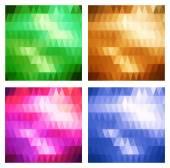 Conjunto de bandeiras — Vetorial Stock