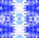 Christmas geometric pattern — Stock Vector