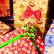 Colorful presents with bows and ribbons — Stock Video #58301513