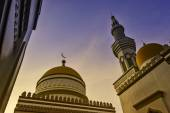 Grand Mosque Sunset — Foto de Stock