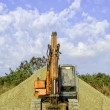 Parked Excavator — Stock Photo #53874623