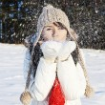 Having fun in winter scene — Stock Photo #61399695