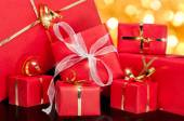 Collection of Gift Boxes — Stock Photo
