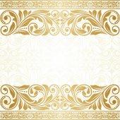 ビンテージ グリーティング カード. — ストックベクタ