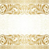 Vintage greeting card. — Stock Vector