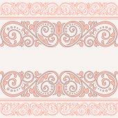 Rocznika kartkę z życzeniami. — Wektor stockowy