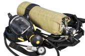Self contained breathing apparatus — Stock Photo