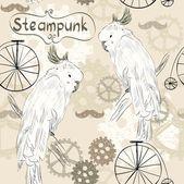 стимпанк — Cтоковый вектор