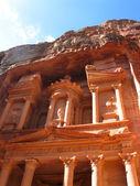 Treasury in Petra — Stock Photo