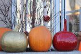 Pumpkin Decorations — Stock Photo